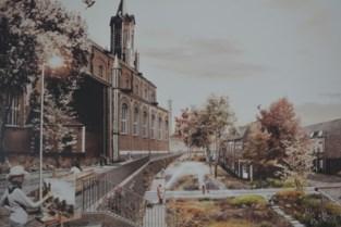 Betonvlakte verandert in kerktuin: water van kerkdak infiltreert weer in omgeving
