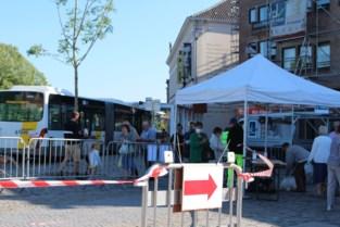 Woensdagmarkt blijft nog even in 'coronamodus'