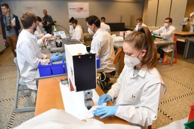 Universiteiten van Antwerpen, Gent en Hasselt starten in code oranje