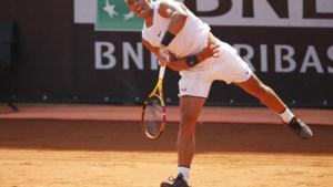 Rafael Nadal terug op het court in Rome, op wel héél bijzondere schoenen