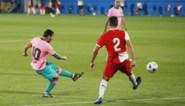 Lionel Messi heeft er opnieuw zin in, zelfs in knalroze outfit: Argentijn scoort wereldgoal in oefenpot
