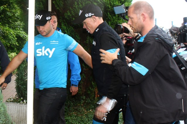 Titelverdedigers die uit de Tour de France stapten: Chris Froome en Bernard Hinault deden het Egan Bernal voor