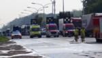 Ongeziene chaos op A12 door lekkende vrachtwagen