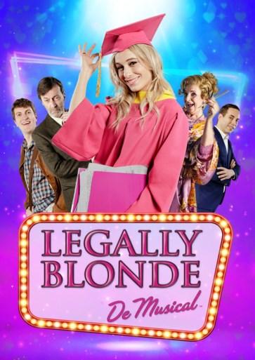 Loes Van den Heuvel in musical 'Legally blonde'