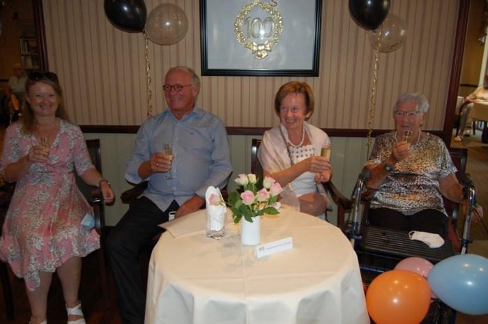 Maria De Groot is de eerste honderdjarige in Residentie Meulenberg