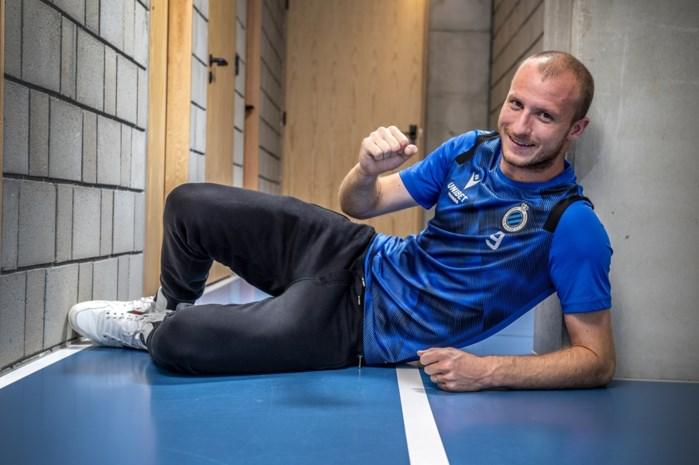 """Michael Krmencik, na zijn eerste doelpunt voor blauw-zwart: """"Mijn vrouw wist niet dat ik getekend had bij Club Brugge"""""""