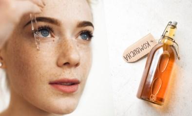 Populair voor in de beautykast: serums en lotions met kombucha