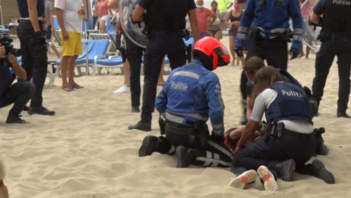 Twee vermoedelijke hoofdrolspelers bij strandrellen Blankenberge vrij onder voorwaarden