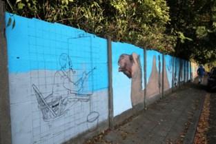 """Groenenborglei krijgt honderd meter lange kunstmuur: """"Leuk voor de bewoners en de cursisten van de kunstacademie"""""""
