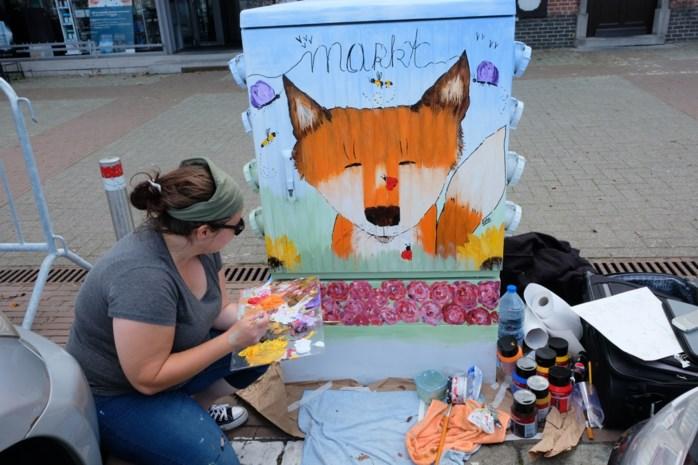 Tour Elentrik toont lokaal talent in het straatbeeld