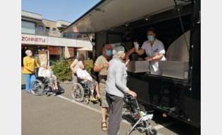 Frietkraam als extra'tje voor bewoners van woonzorgcentrum Zonnetij