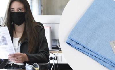 Onderzoek toont aan: dweil voor de mond bijna even efficiënt als chirurgisch mondmasker