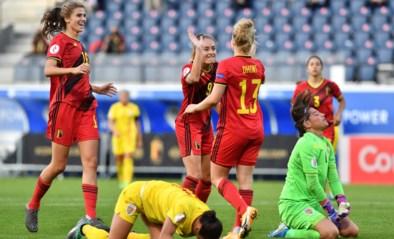 Red Flames zetten reuzenstap richting EK dankzij ruime zege tegen Roemenië, Wullaert absolute uitblinker