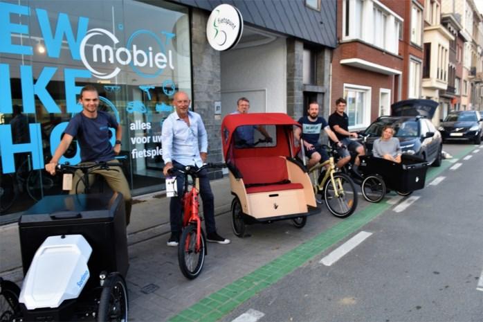 Nieuw gebouw van Mobiel zet fiets en fietser centraal