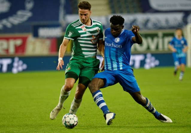 Schorsing voor AA Gent-verdediger Ngadeu teruggebracht tot twee speeldagen
