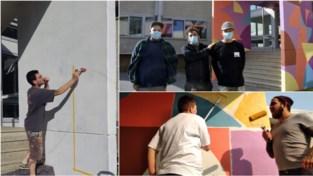 Street art-project (met de zegen van Eden Hazard) moet jongeren zich nog meer laten thuis voelen op domein Levenslust