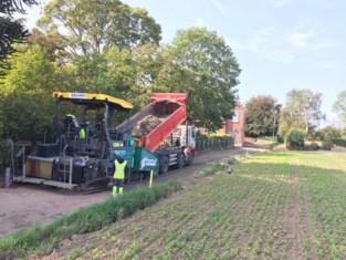 Betonnering in Hauthem al aangevat