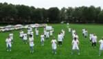 Personeel Wit-Gele Kruis danst op bedevaartweide