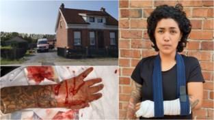 """Nelly (32) getuigt na aanval door twee pitbulls: """"Gelukkig waren mijn kinderen niet bij mij"""""""