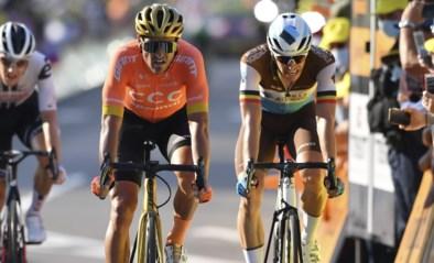 """Oliver Naesen erg gefrustreerd door tactiek van winnaar Kragh Andersen: """"Moest iedereen zo koersen, dan rijden we elke dag gemiddeld 29km/u"""""""