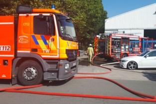 Motor afzuiginstallatie houtbedrijf vat vuur