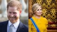 ROYALS. Felicitaties voor Harry en Máxima recycleert jurk