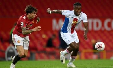 Crystal Palace wint van Manchester United met Michy Batshuayi als invaller