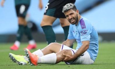 Manchester City nog minstens een maand zonder prijsschutter Sergio Agüero