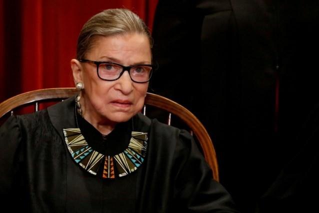 Amerikaanse opperrechter Ruth Bader Ginsburg overleden