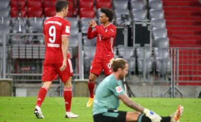Bayern pompt er meteen acht voorbij Schalke 04 op openingsspeeldag Bundesliga