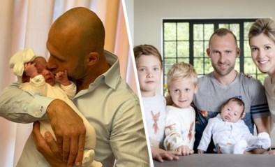 "Thomas Buffel voor de vierde keer papa: zijn prinsesje is ""nu al mama's hartendief"""
