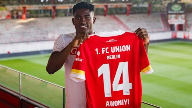 Union Berlijn huurt Taiwo Awoniyi (ex-Moeskroen en Gent) van Liverpool
