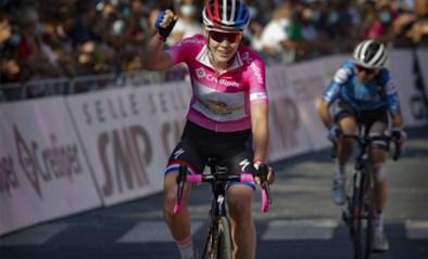 Anna van der Breggen schrijft de Giro Rosa voor de derde keer op haar naam