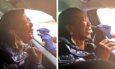 """Dame schreeuwt het uit van schrik tijdens coronatest: """"Meest beangstigende dat ik ooit heb gevoeld"""""""