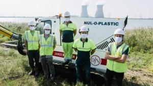De grote wapens tegen plastic afval: Nul-O-Plastic stofzuigt pellets op havenoevers
