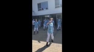 Keerbergse Seniorenresidentie geniet van Dance Monkeys
