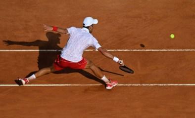 Novak Djokovic plaatst zich als eerste voor de finale van ATP Rome