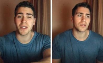 """Video van student die in vijf verschillende accenten zingt al miljoenen keren bekeken: """"Nooit zo veel respons verwacht"""""""