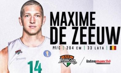 Belgian Lion Maxime De Zeeuw naar Poolse Zielona Gora