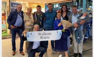 Bart, Olivier en hun zoontje Warre na vier maanden (eindelijk) terug uit VS