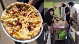 Weinig Italiaans, maar zeer populair in de Gentse rand: de 'zwijntjespizza'