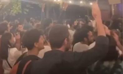 """Tientallen feestvierders in het Warandepark zondagavond: """"Controle beetje verloren"""""""