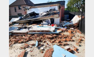 Achterbouw geëxplodeerd in Vierde Cité Winterslag