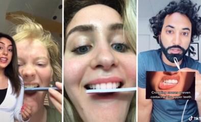 """Tandartsen waarschuwen voor gevaarlijke TikTok-trend met nagelvijl: """"Dit is niet aan te raden"""""""