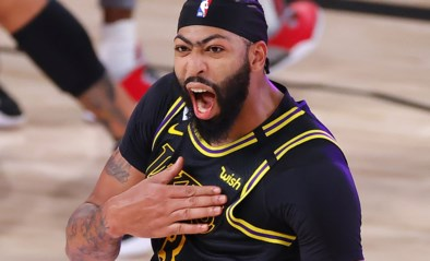 At the buzzer: Anthony Davis schenkt Lakers dubbele voorsprong in de slotseconde