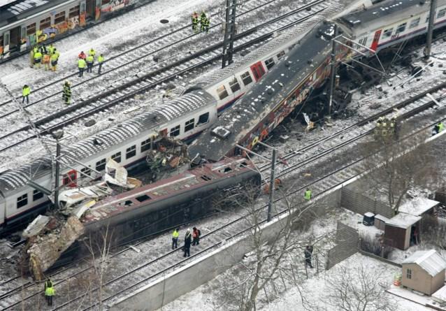 Proces in beroep over treinramp Buizingen vindt plaats in Brussels justitiepaleis