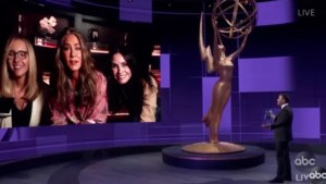 Emmy Awards zorgen voor mini Friends-reünie