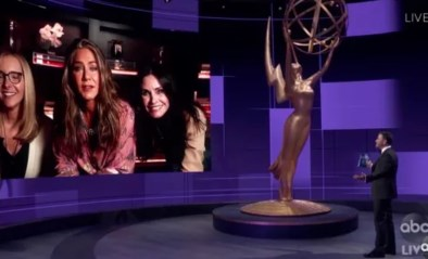 Emmy Awards zorgen voor mini Friends-reünie