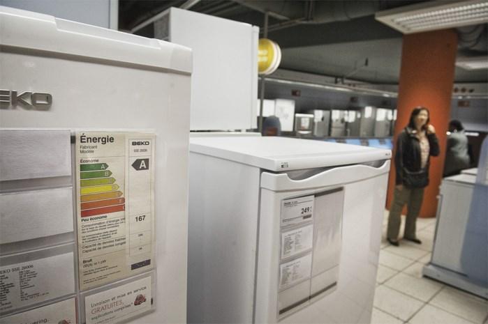 Strengere energielabels voor huishoudelektro: plots is uw A    koelkast nog maar een C'tje waard