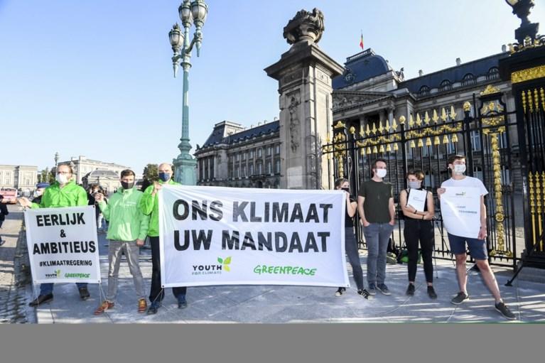 Anuna De Wever opgepakt na klimaatactie aan het Paleis